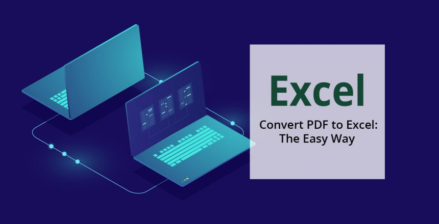 How to convert an Excel file into a pdf file