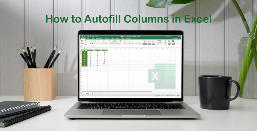 How to Autofill Row Numbers in Excel