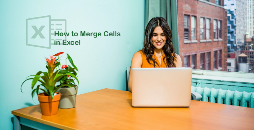 how to merge cells in microsoft excel
