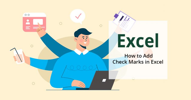 How to add checkmarks in Excel
