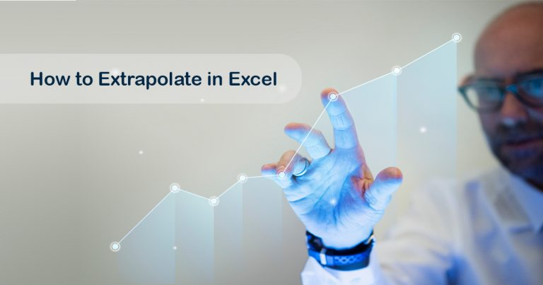 How to extrapolate in excel