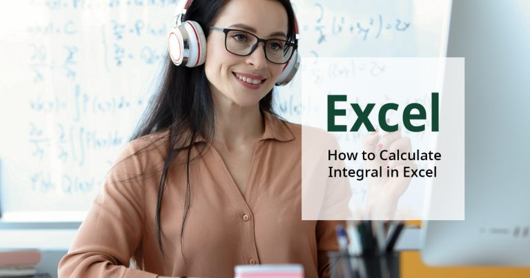 How to calculate integral in Excel