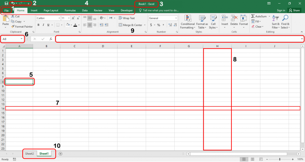 Microsoft Excel Components