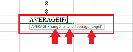 The AVERAGEIF function finds the average for them that meet the defined criteria.