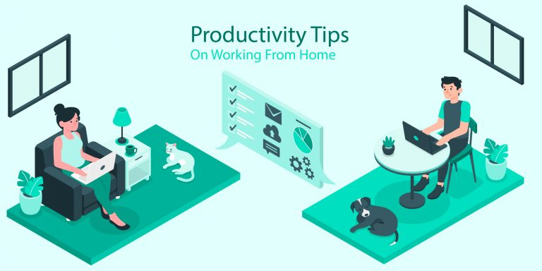 Using software for file-sharing, better communication with coworkers, and time management while working from home.